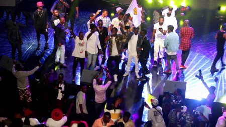 VIDEO: Shatta Wale and Stonebwoy reunites at the 2015 4Syte Video Music Awards