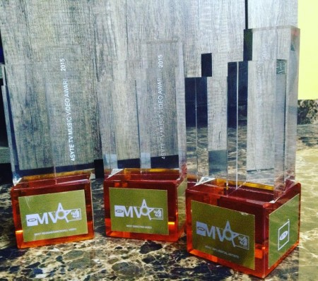 Stonebwoy grabbed 3 Awards at the 2015 4Syte Music Video Awards + Full List of Winners