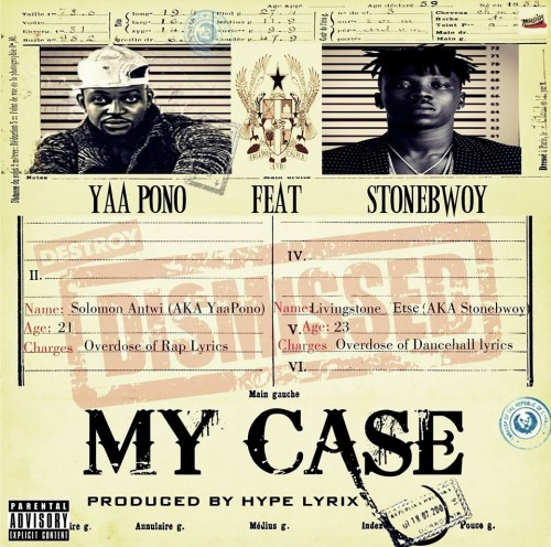 Yaa Pono - My Case ft StoneBwoy(Prod By Hypelyrix)