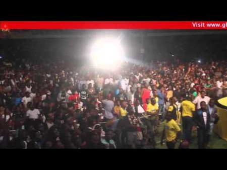 VIDEO: Samini performs Shatta Wale's Kakai at MTN Pulse Concert '16