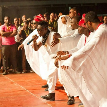 VIDEO: Shatta Wale performance at Joy Daddy Youth Party