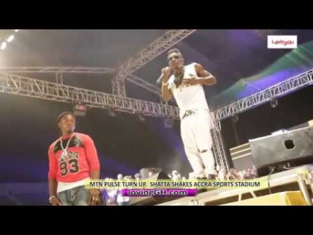 Shatta Wale shakes Accra Sports Stadium with Energetic performance