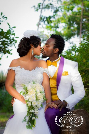 Exclusive Photos from Kwaw Kese's White Wedding