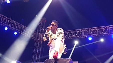 "Shatta Wale made history with his ""After The Storm"" Album launch concert"