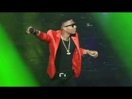 Wizkid live band performance at the 2016 VGMAs