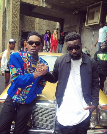 Patoranking – No Kissing Baby ft Sarkodie (Official Video)