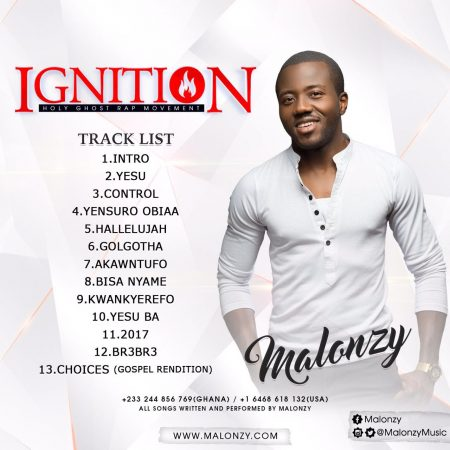 Malonzy – Ignition (Full Album)