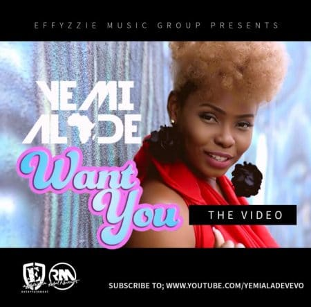 Yemi Alade – Want You (Official Video)