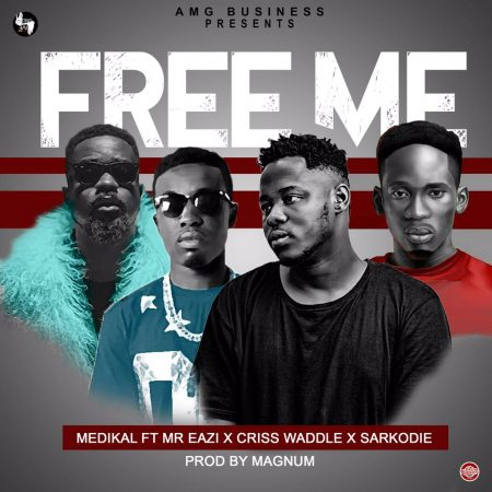 Medikal – Free Me ft. Sarkodie x Criss Waddle x Mr Eazi (Prod. by Magnom)