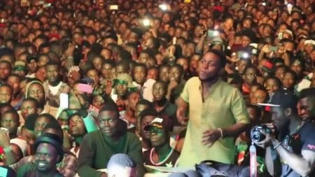 Stonebwoy live performance at 2016 BHIM Nation for Peace Concert