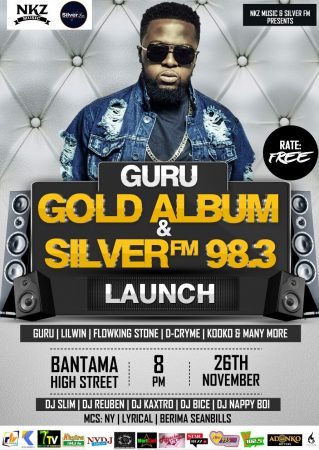 "Guru to launch ""Gold Album"" on November 26"