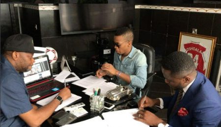 Tekno signs deal with Sony Music