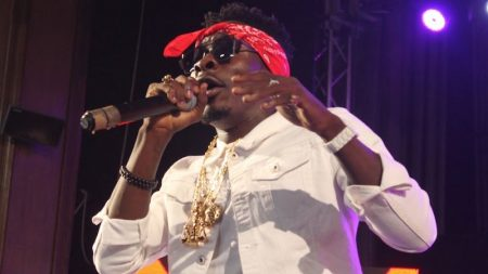 Shatta Wale live performance at the 2016 Decemba 2 Rememba