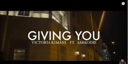 Victoria Kimani – Giving You ft Sarkodie (Official Video)