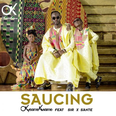 Okyeame Kwame – Saucing ft. Sir x Sante (Prod. by Abochi)