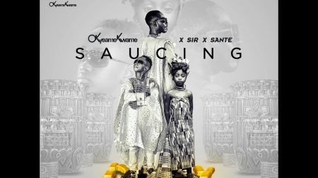 Okyeame Kwame – Saucing ft. Sir x Sante (Official Video)