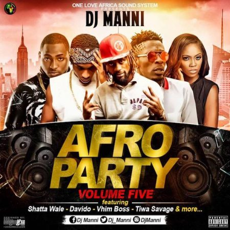 DJ Manni – Afro Party Mix (Vol. 5)