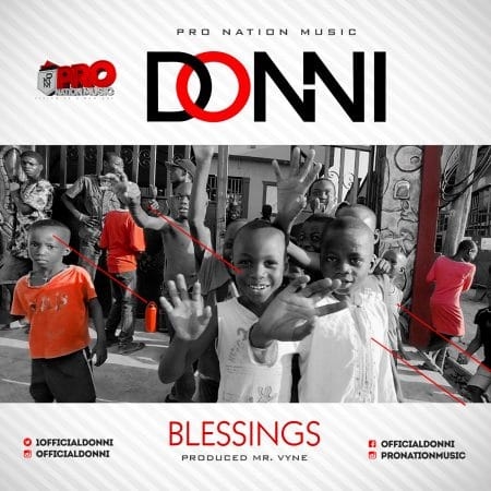 Donni – Blessings (Prod By Mr Vyne)