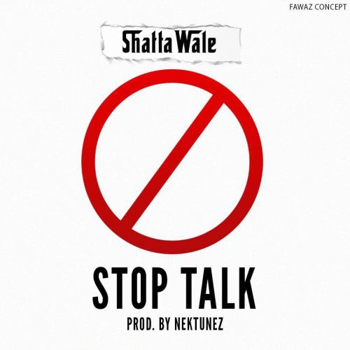 Image result for shatta wale stop talk