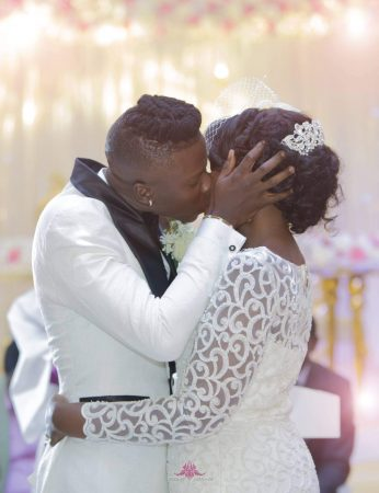 PHOTOS: Here are some memorable moments from Stonebwoy's Wedding