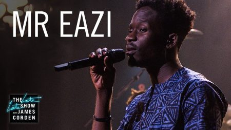 Mr. Eazi performs live on The Late Late Show with James Corden