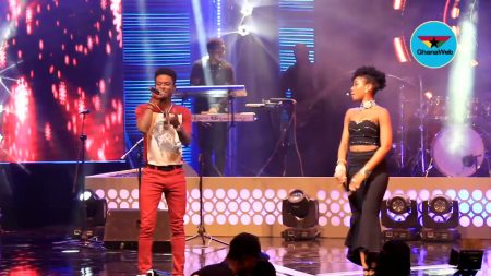 VIDEO: MzVee performs with Kuami Eugene at Becca UNVEILED