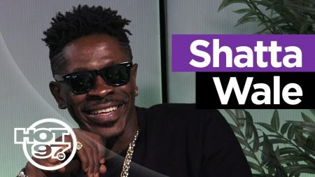 Shatta Wale explains Afro-Dancehall on Hot 97