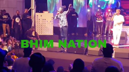 VIDEO: Stonebwoy's vibrant performance at Becca UNVEILED