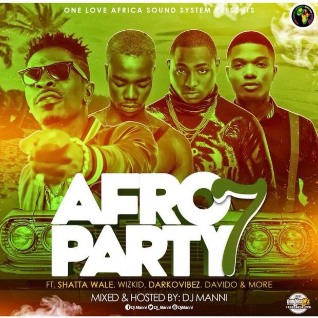 Dj Manni Afro Party Vol 7
