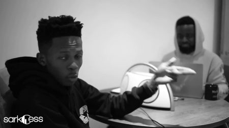 Sarkodie and Strongman freestyle (Part 1)