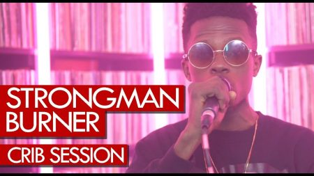 VIDEO: Strongman freestyles on Tim Westwood Crib Session