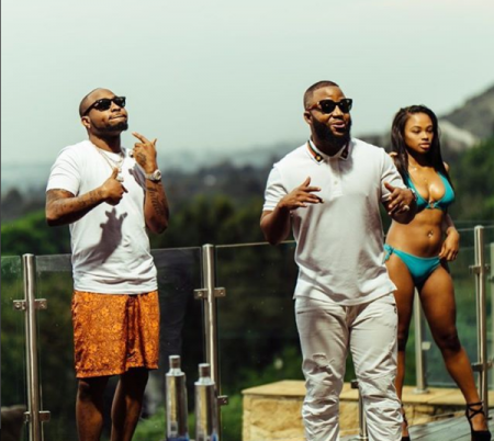 Cassper Nyovest – Check On You ft. Davido (Official Video)