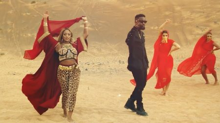 Cuppy – Vybe ft. Sarkodie (Official Video)