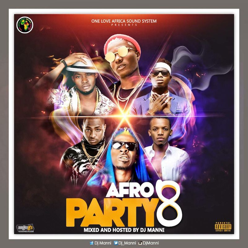 DJ Manni - Afro Party (Vol  8)