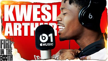 Kwesi Arthur – Fire in the Booth (Hosted by Charlie Sloth)