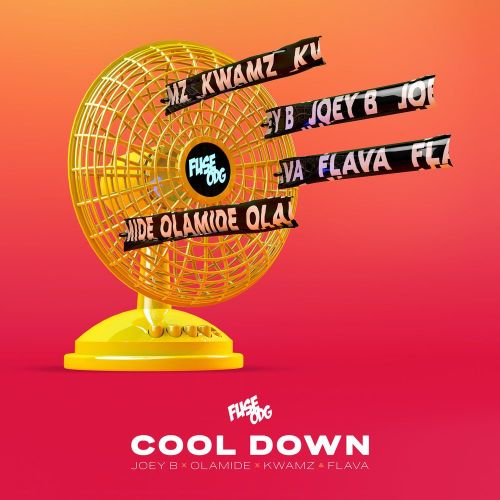 Download Fuse ODG – Cool Down ft. Olamide, Joey B, Kwamz & Flava 1